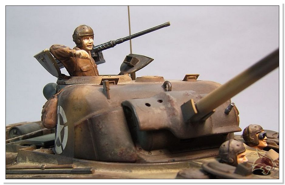 "Monte Casino 1944 - Sherman 1/35 Tamiya ""Restaurado"" Finales18"