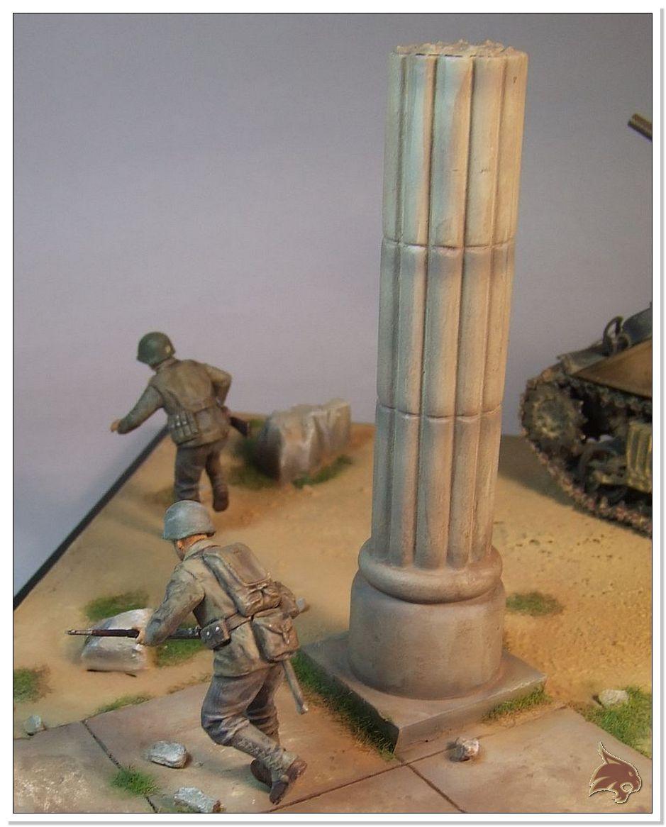 "Monte Casino 1944 - Sherman 1/35 Tamiya ""Restaurado"" Finales29"
