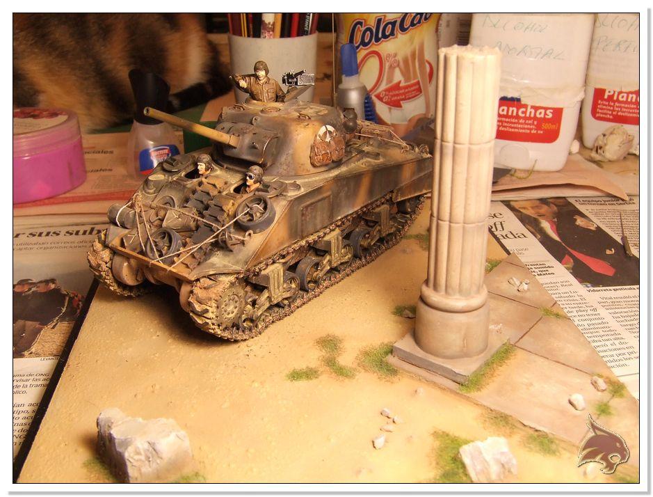 "Monte Casino 1944 - Sherman 1/35 Tamiya ""Restaurado"" Peanat16"