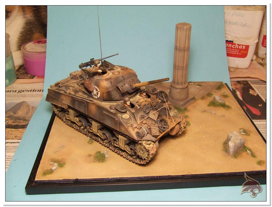 "Monte Casino 1944 - Sherman 1/35 Tamiya ""Restaurado"" Peanat17"