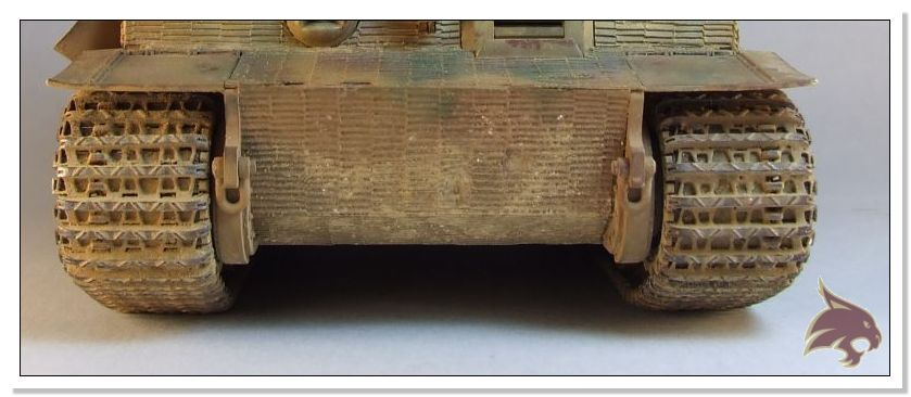 Tiger I Pkf VI Ausf.E Late Version - 4 figuras - Tamiya 1/35 14